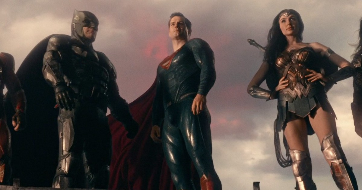 Superman Justice League Movie Behind-The-Scenes Footage