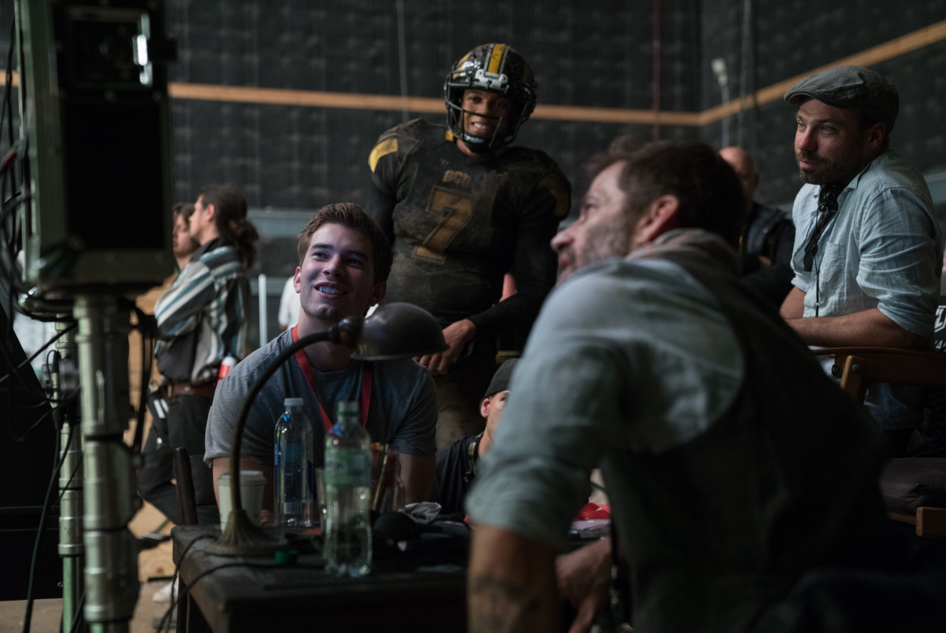 Justice League Zack Snyder Ray Fisher BTS Image
