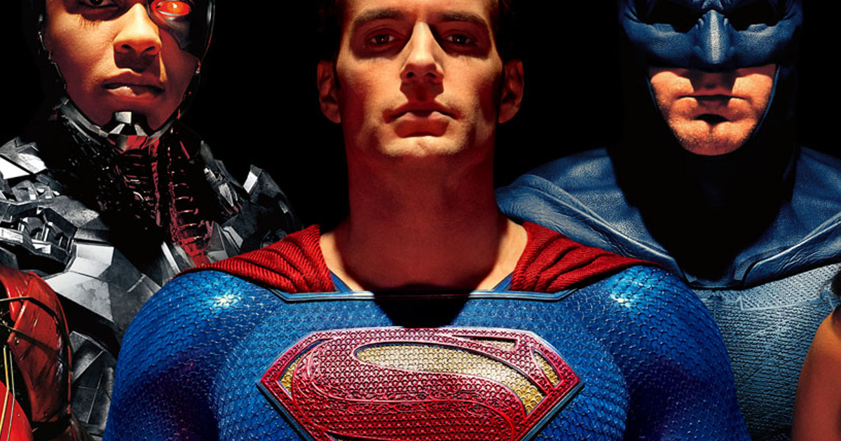 Superman Henry Cavill Justice League Poster