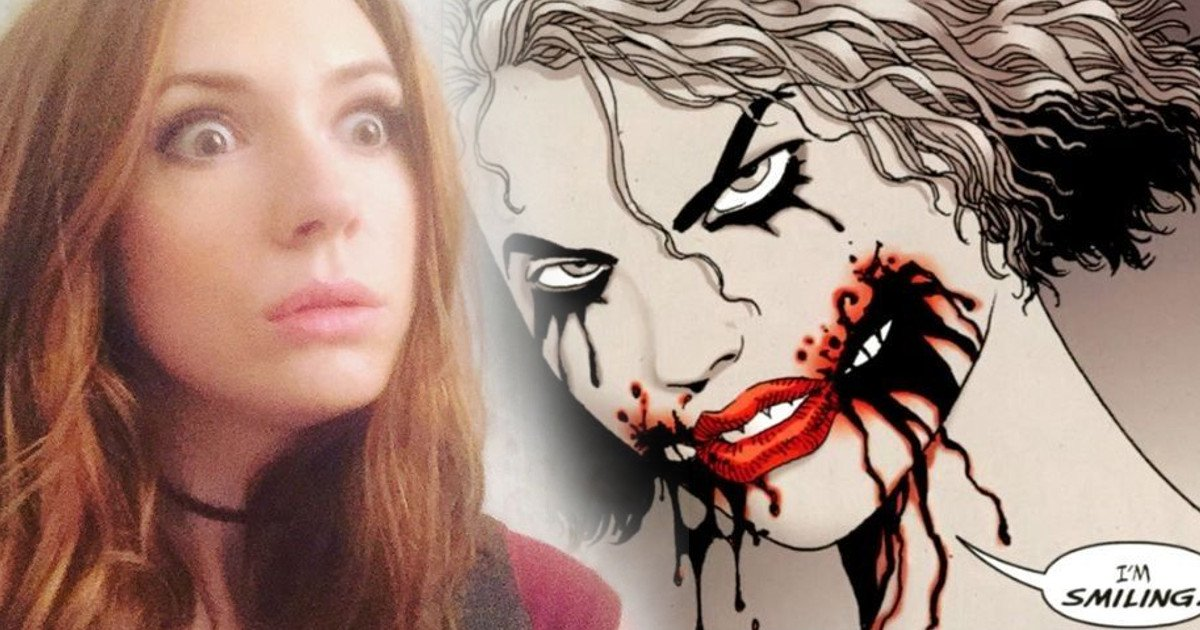 Karen Gillan Wants to Play the Joker in a DCEU Film