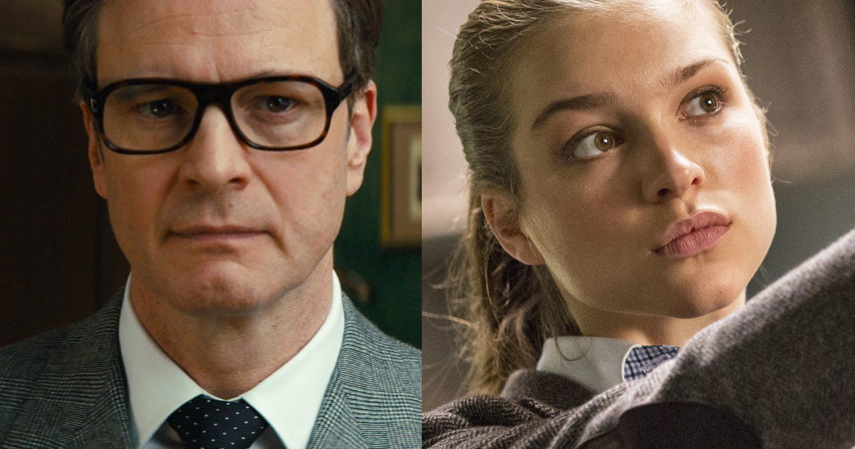 Colin Firth Taron Egerton Sophie Cookson About Kingsman: First Look At Colin Firth In Kingsman 2: Sophie Cookson