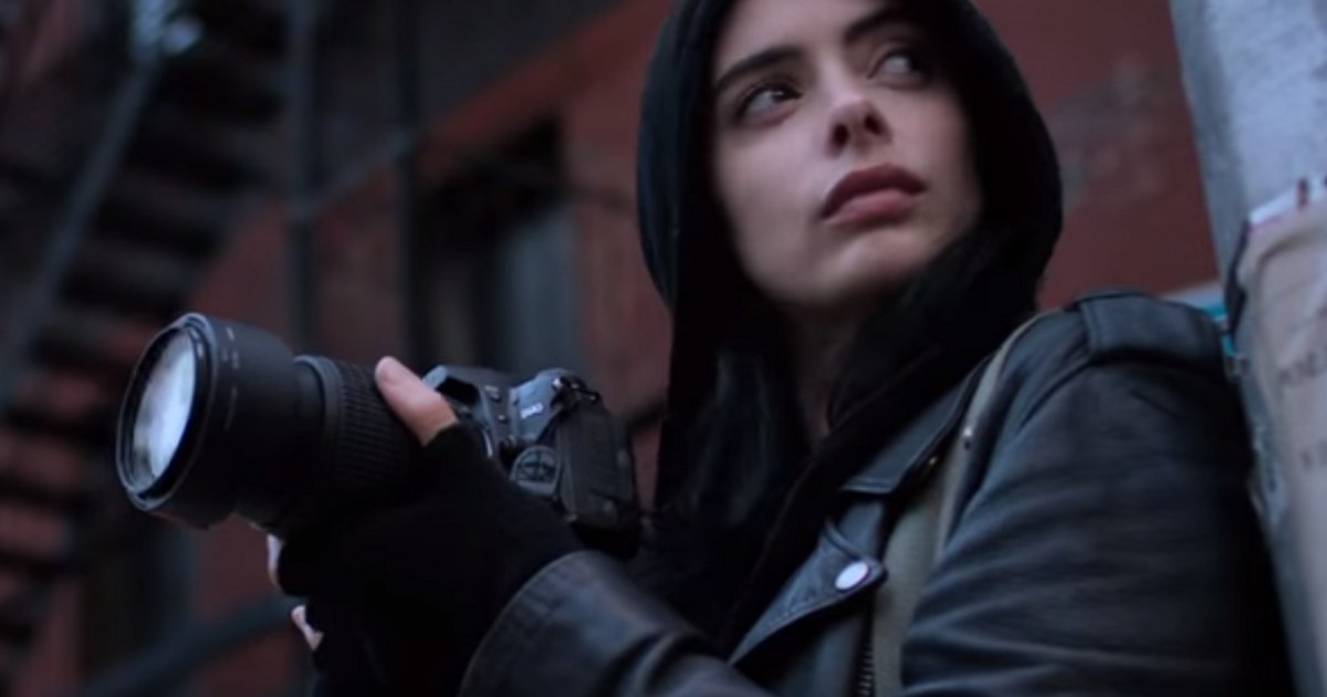 Krysten Ritter Shares BTS Jessica Jones Season 2 Image