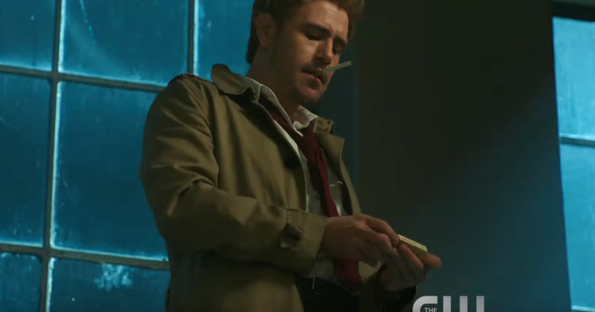 "DC's Legends of Tomorrow ""A War Is Coming"" Trailer Features Constantine"