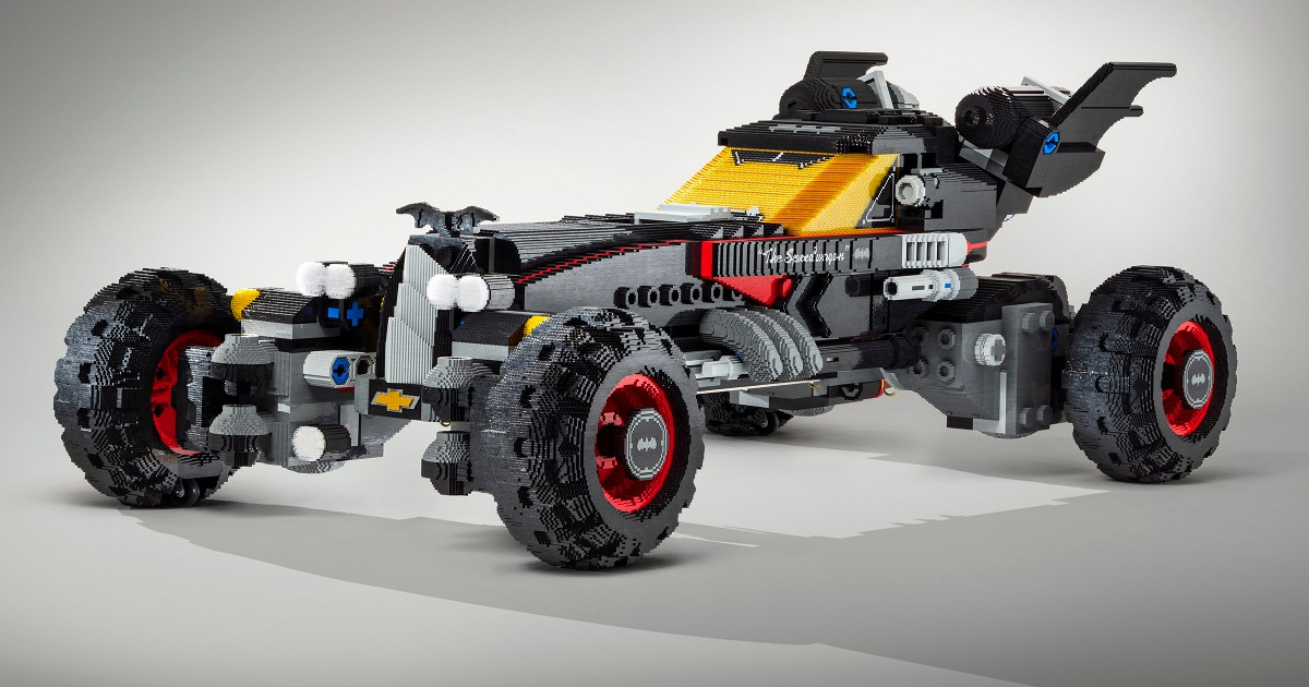 LEGO Movie Batmobile Revealed From Chevrolet & New Spot