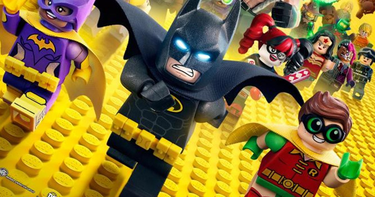 Everything Is Awesome!而《The LEGO Batman Movie》就更加 BATastic!!
