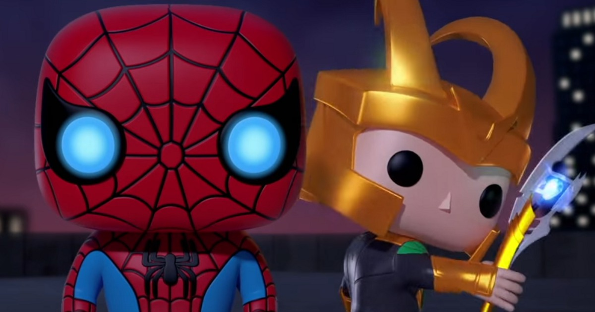 Watch Marvel Funko Animated Short With Spider Man Iron