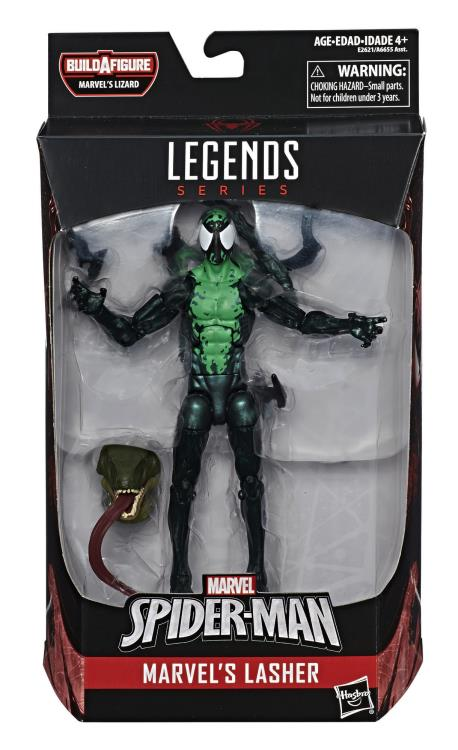 Marvel Legends Spider-Man Lasher