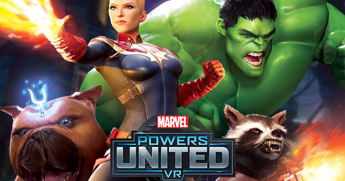 Powers United VR game brings the world of Marvel to Oculus Rift