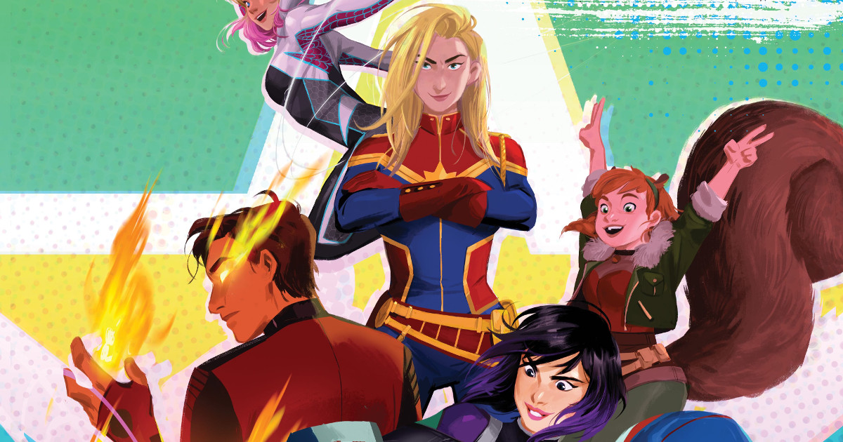 Marvel is making an animated movie with diverse superheroes