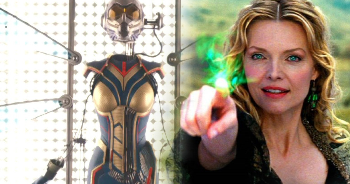 Michelle Pfeiffer Is Janet Van Dyne in ANT-MAN AND THE WASP