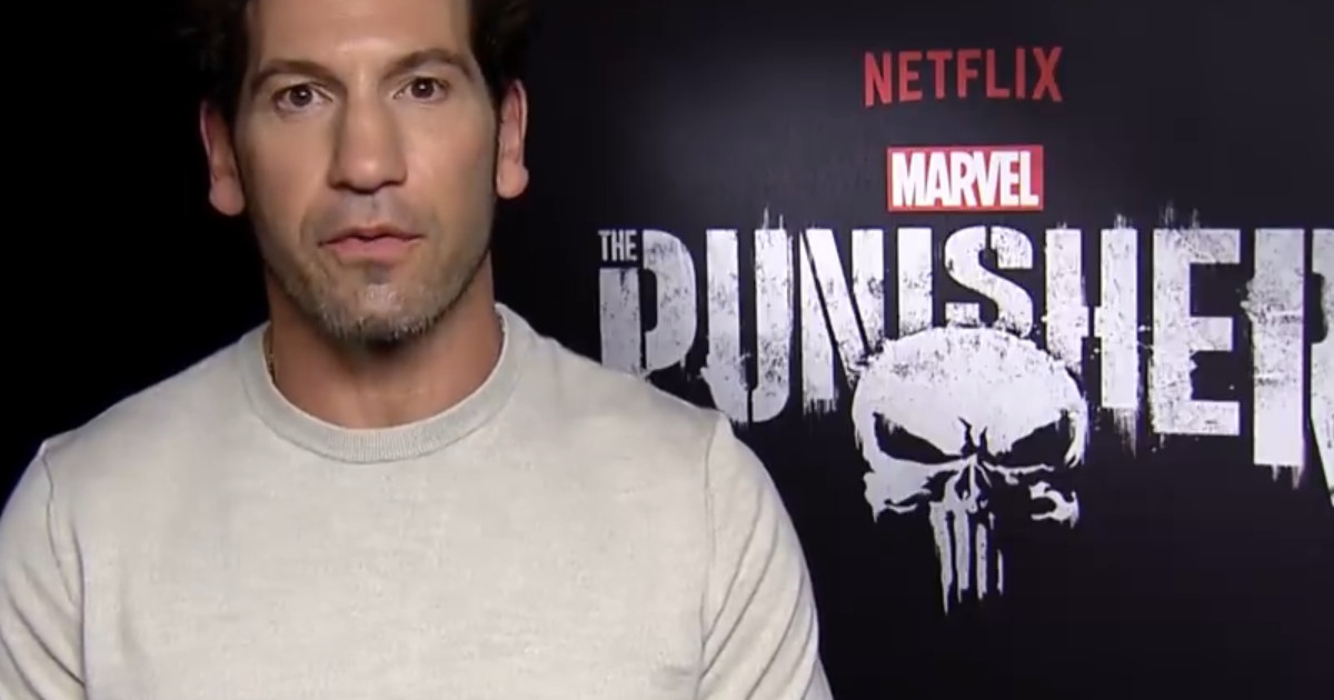 Jon Bernthal and Marvel's The Punisher take time to thank all the veterans out there for Veteran's Day.