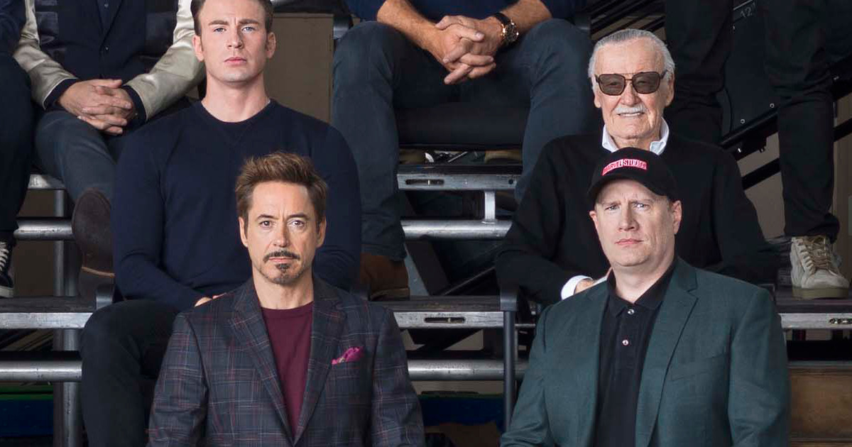 Marvel celebrates 10 years with star-studded 'class photo'