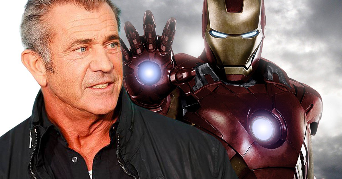 Mel Gibson Says Iron Man 4 Would Be Fun