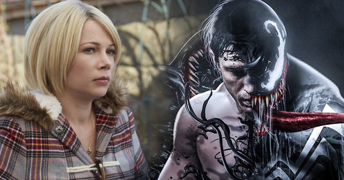 Michelle Williams is set to star in Sony's 'Venom' opposite Tom Hardy