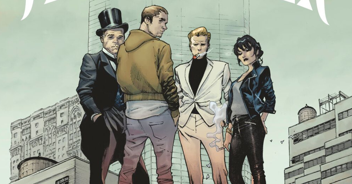 Netflix Mark Millar The Magic Order