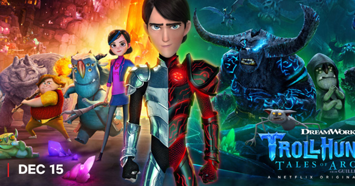Netflix Trollhunters Part 2 Trailer
