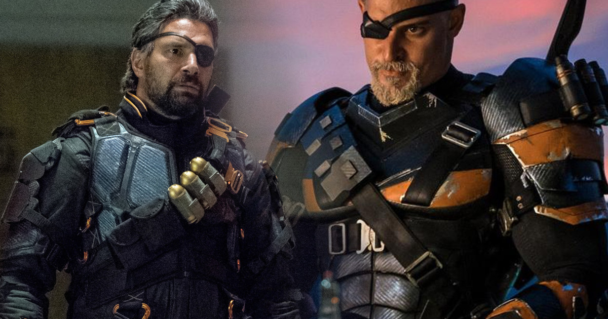 No More Deathstroke For Arrow Because Of Joe Manganiello Movie