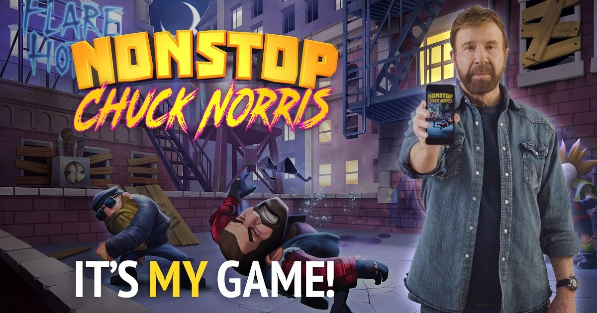 Chuck Norris Gets A Video Game