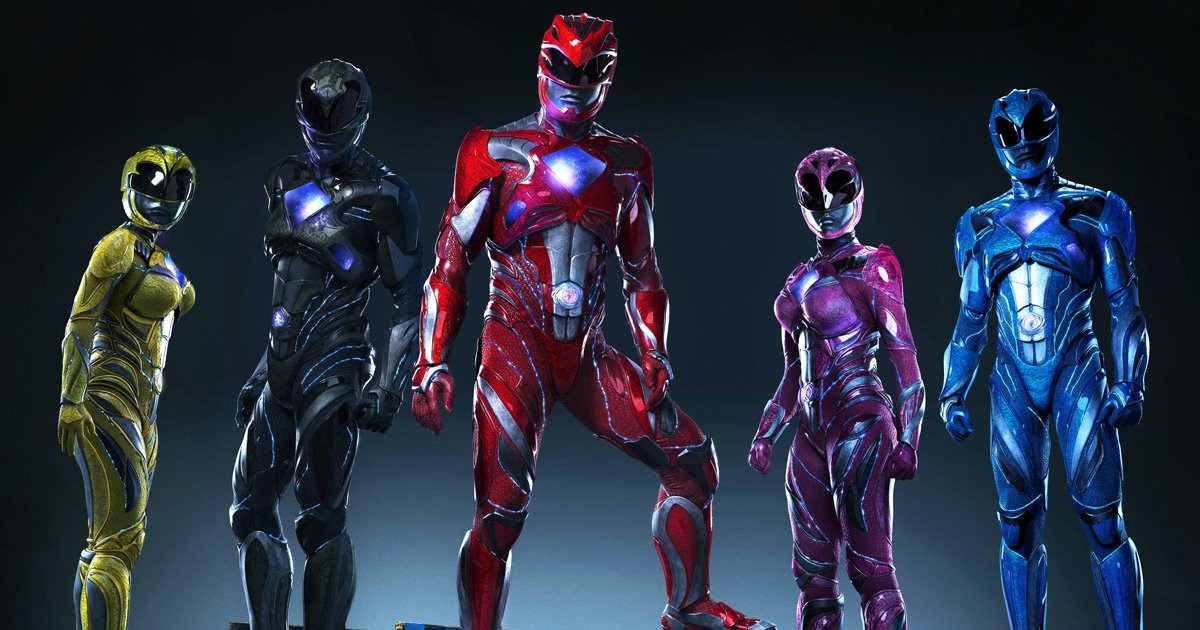 Power Rangers Movie Poster Released