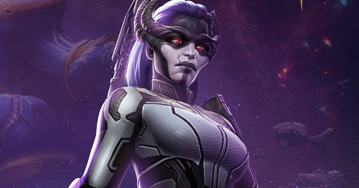 Proxima Midnight Joins Marvel: Contest of Champions