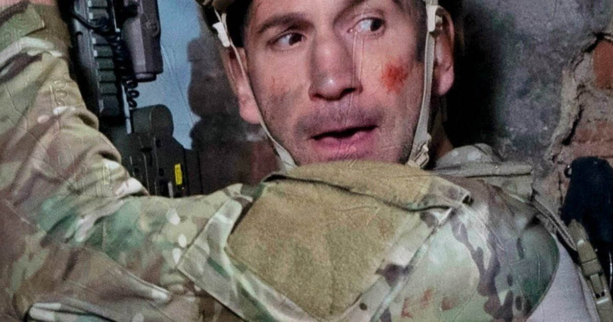 The Punisher image revisits Frank Castle's military days