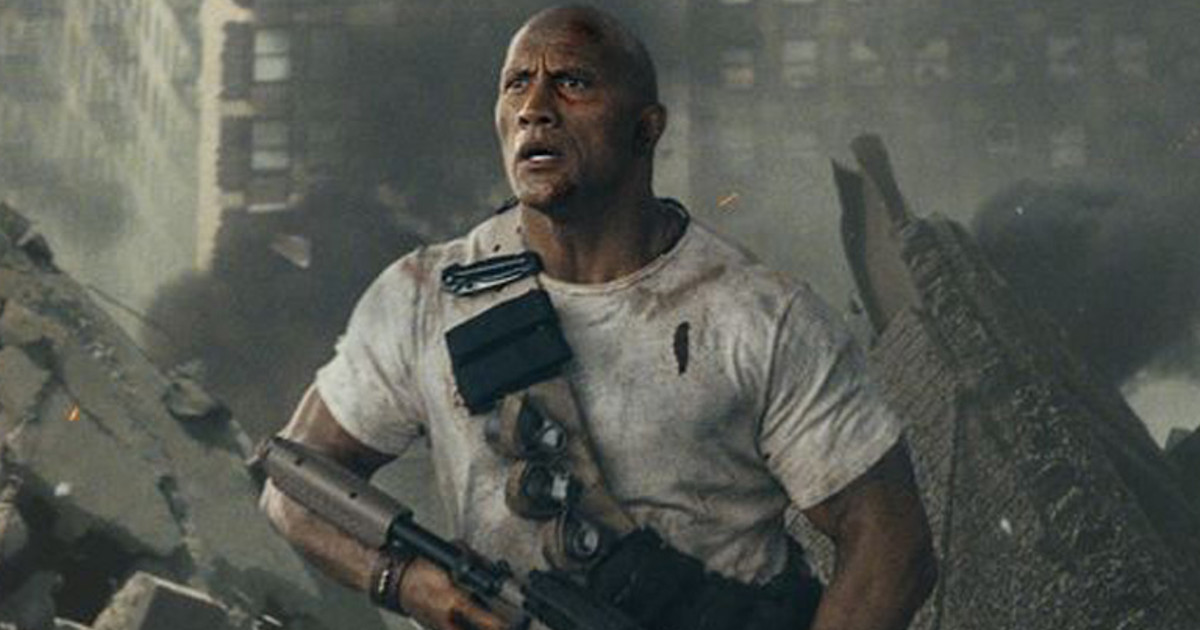 Dwayne Johnson Rampage Trailer Announcement Video