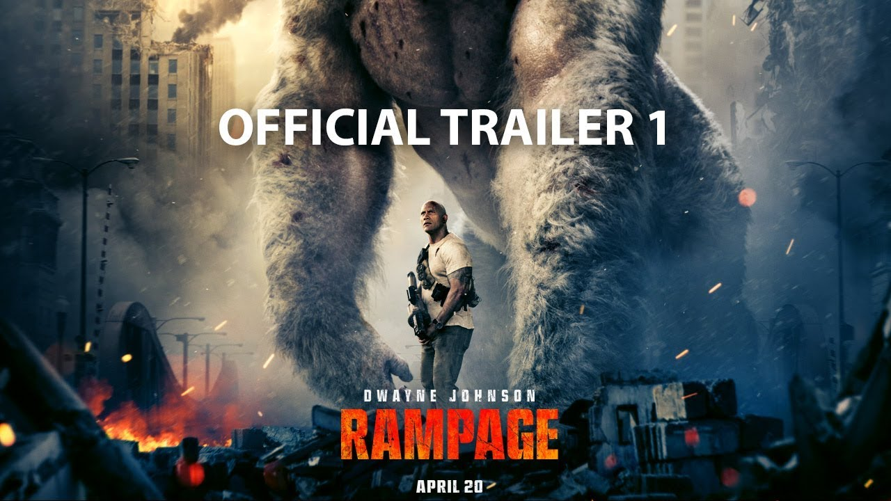 Dwayne Johnson Rampage Trailer