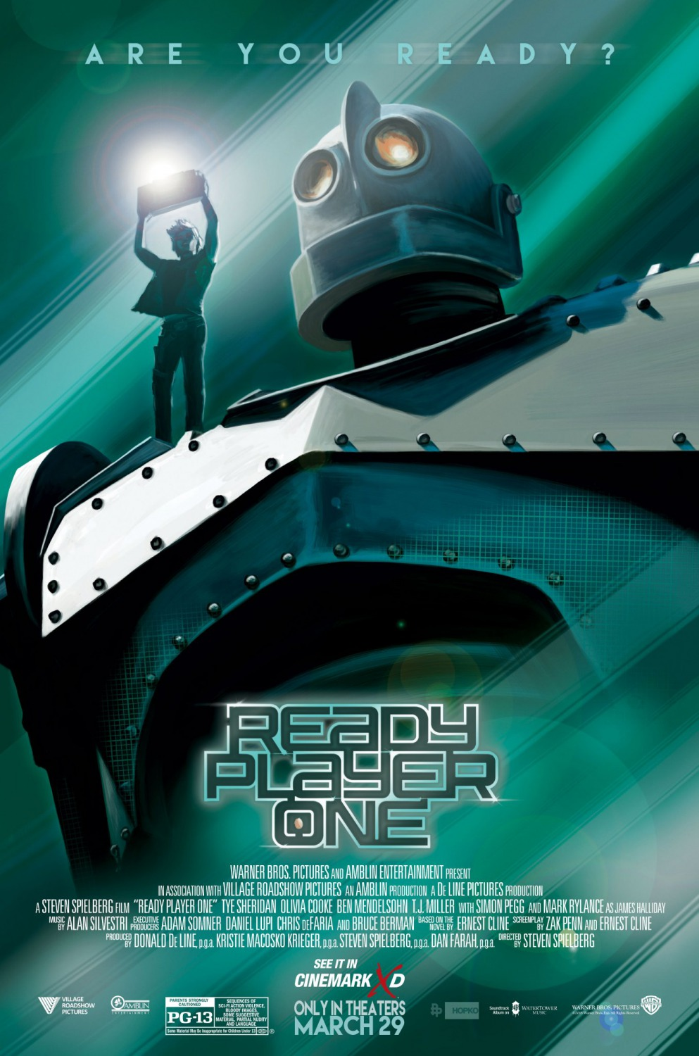 Ready Player One Iron Giant Poster