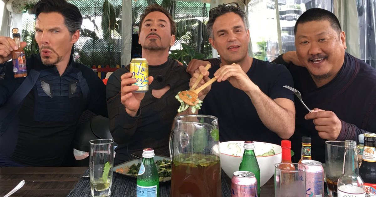 Robert Downey Jr. Shares 'Avengers