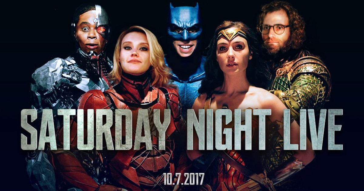 Saturday Night Live Justice League