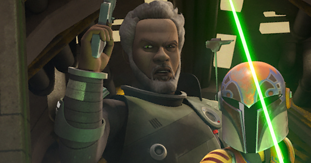Saw Gerrera returns to Star Wars Rebels Monday in a two-part episode
