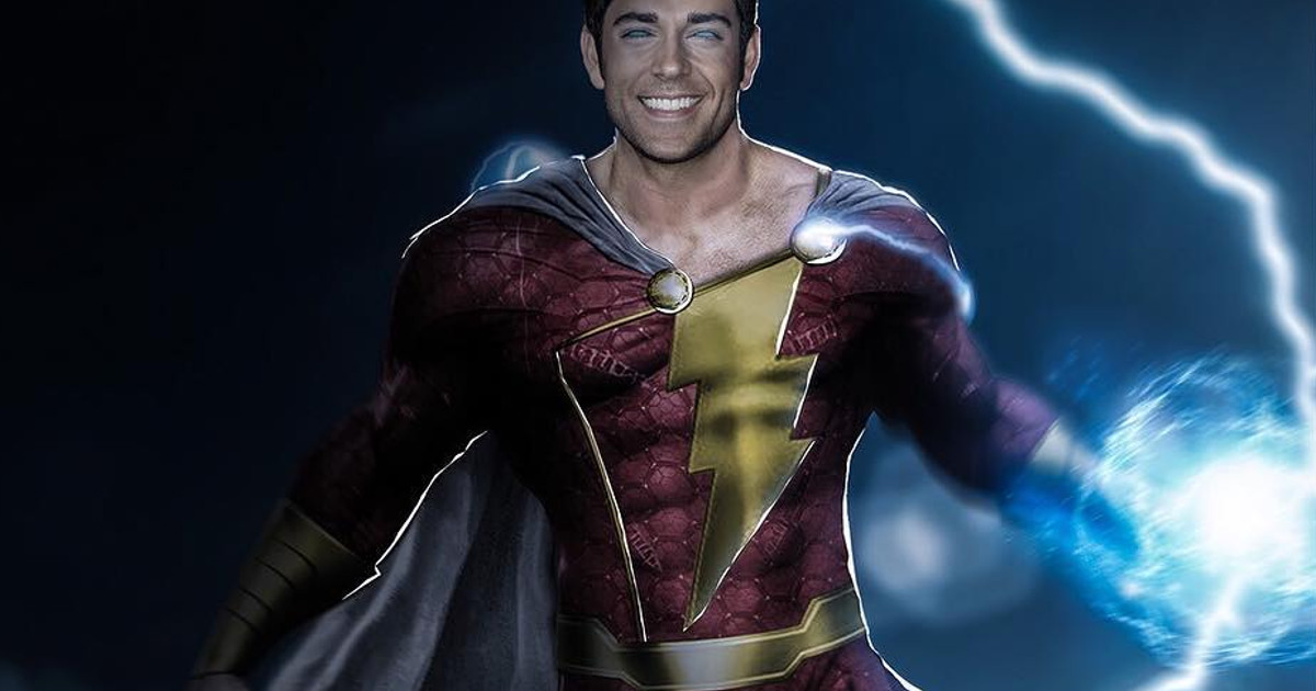 Shazam: DC's new movie has begun filming