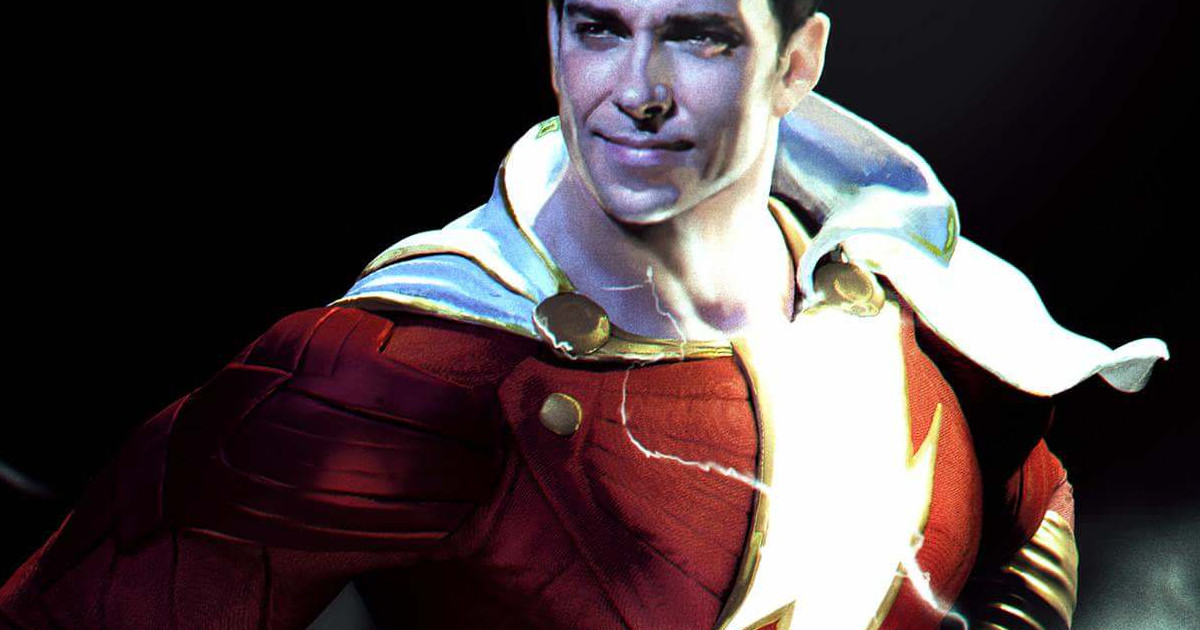 Shazam! teaser poster reveals the DC movie's official logo
