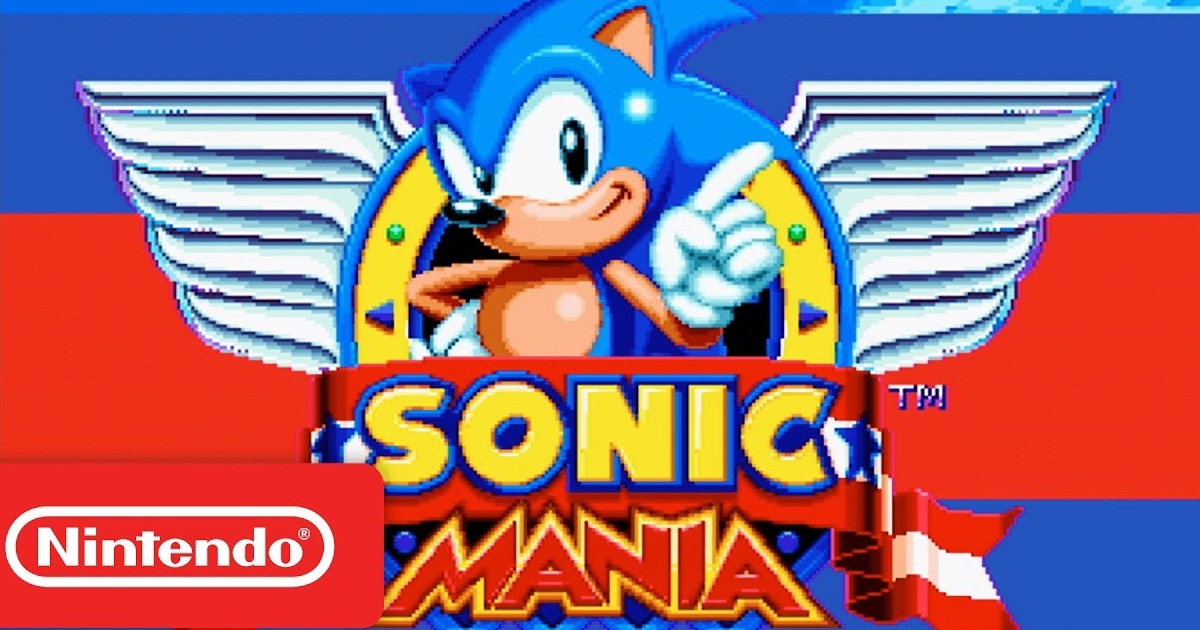 Sonic Mania announced for Switch