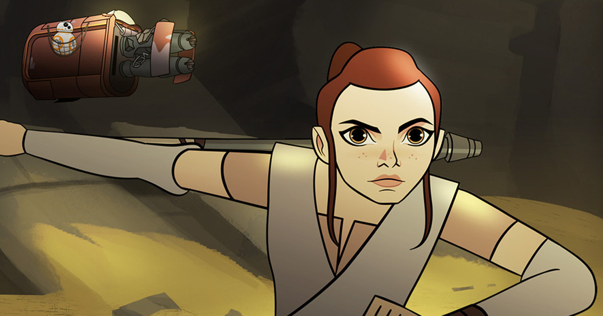Star Wars: Forces of Destiny Trailer Reveals Series Premiere Date