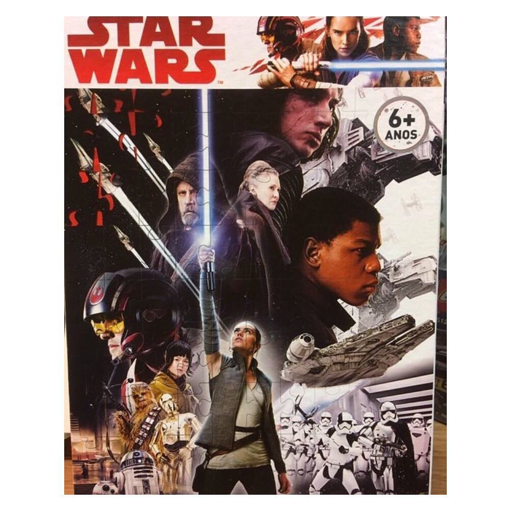 Star Wars: The Last Jedi Puzzle Poster Revealed