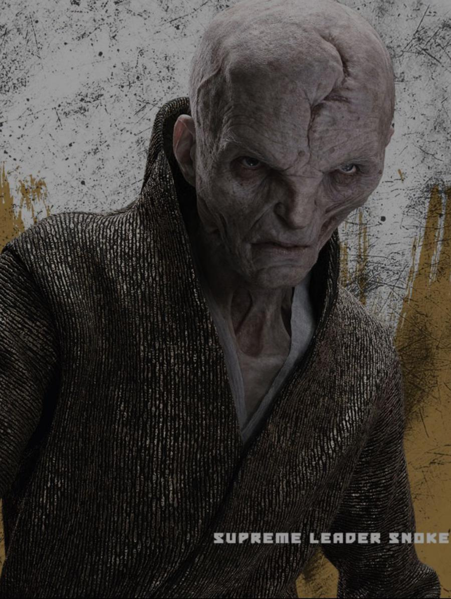 Snoke Star Wars The Last Jedi