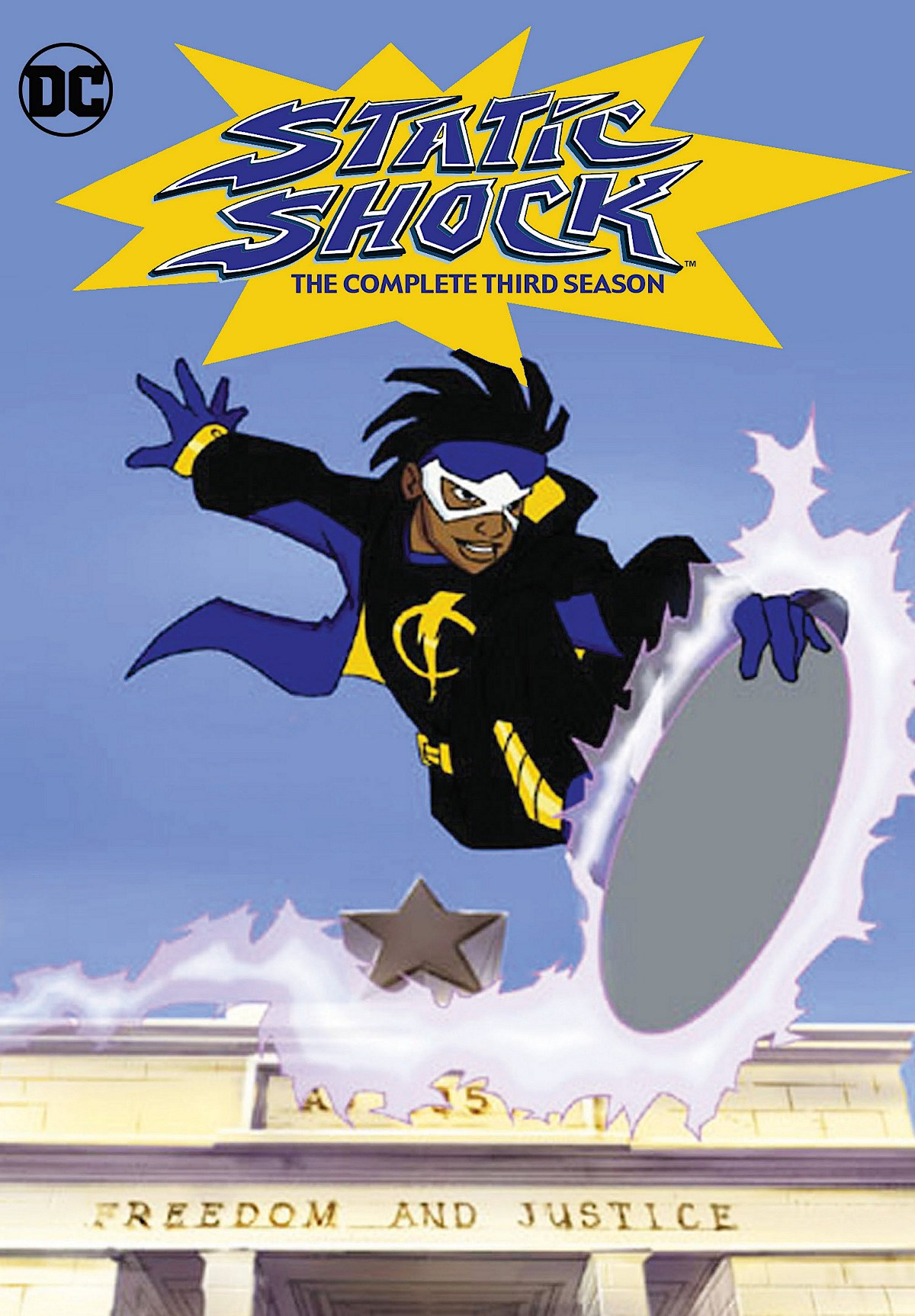 Static Shock Season 3 DVD