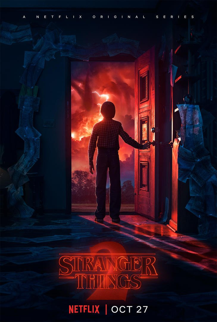 Stranger Things 2 poster