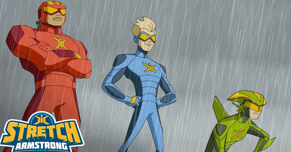 Stretch Armstrong and the Flex Fighters Netflix Trailer