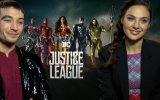 Justice League WB Interview With Gal Gadot & Ezra Miller