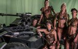 Justice League: Zack Snyder Shows Off Batmobile & Amazons