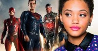 Justice League Kiersey Clemons Behind-The-Scenes Footage Lands Online