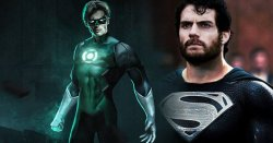 Justice League Green Lantern Black Costume Superman