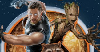 Avengers: Infinity War: Thor & Guardians of the Galaxy Art