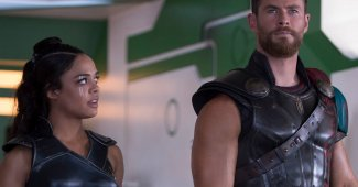 Chris Hemsworth & Tessa Thompson Reunite For Men In Black Spinoff