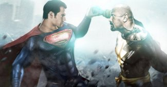 Dwayne Johnson Black Adam and Henry Cavill Superman Speculated For Shazam!