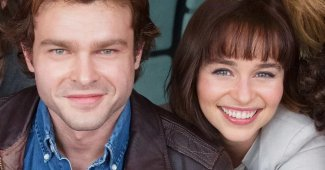 Emilia Clarke Ron Howard Star War Han Solo