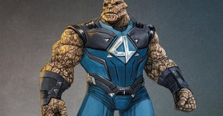 Awesome Fantastic Four Fan Concept Art