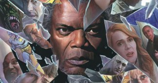 Glass Alex Ross Comic-Con Poster